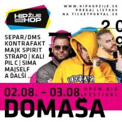 HIP HOP ŽIJE FESTIVAL DOMAŠA 2019