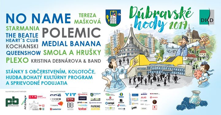 Dúbravské hody 2019 - kompletný program