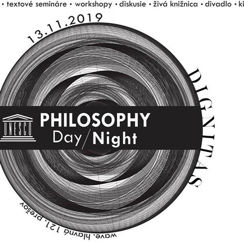 Unesco Philosophy Day/Night 2019 - Dignitas